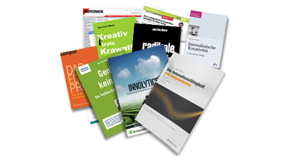 Fachbücher, Artikel und Studien von Dr. Jens-Uwe Meyer zu den Themen Innovation und Kreativität