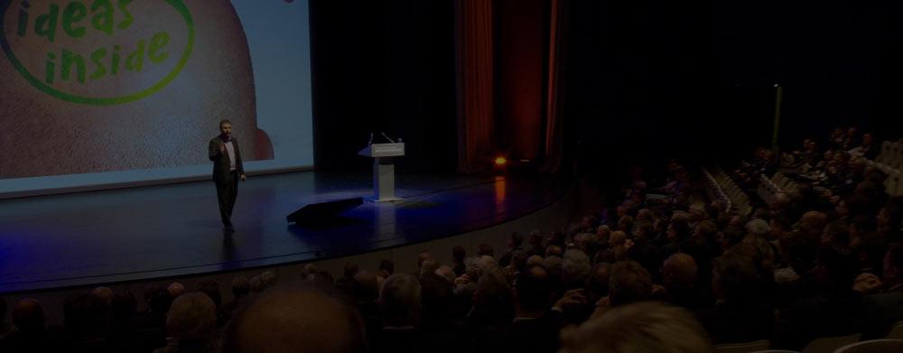 Keynote Speaker Dr. Jens-Uwe Meyer - Vielfältige Vortragsthemen zu Innovation und Kreativität